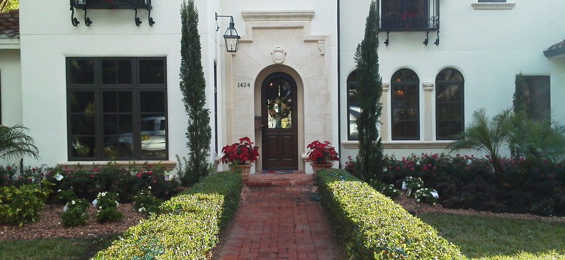 Winter Park Landscaping Redesign After Front Middle