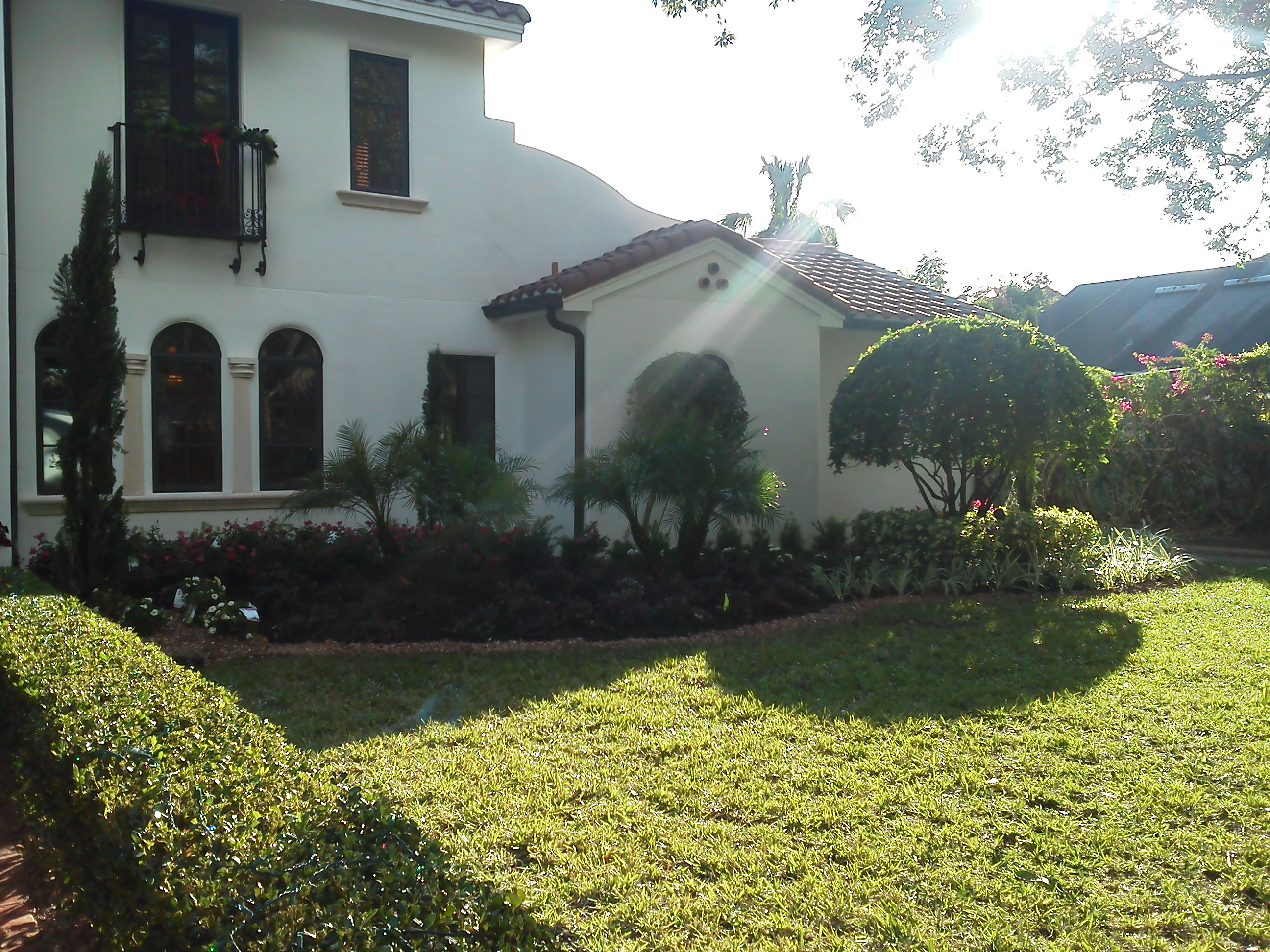 Winter park landscaping redesign jason yero group for Redesigning the front of your house
